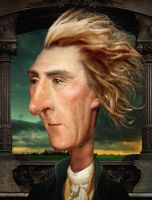 Thomas Jefferson by funkwood