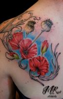 Poppys by Anderstattoo