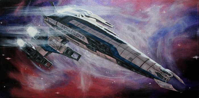 SR-2 Normandy by John-D-Salvatore