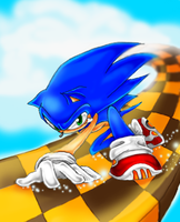 Sonic's Sky by Zinfer