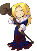 Disgaea - Cleric by deeum