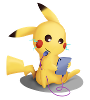 Pika Charge by 041744