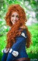 Merida - The brave by Neigeamer