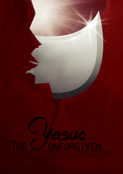 Yasuo Flyer by Krucifiks