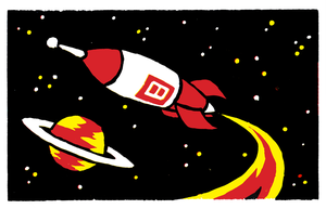 Rocket Number 8 by brothersdude