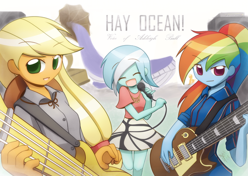 Commission Gift to Ashleigh Ball by HowXu