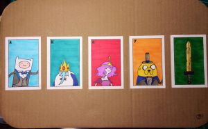 Adventure Time Playing Cards by TB8S
