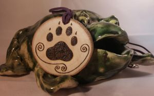 Big paw chain Pyrography by CiceroVanStain