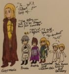 Hetalia- Germania and his Children by Karma-Maple