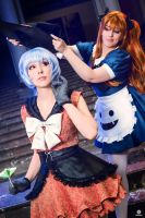 Rei and Asuka Witches by Lye1