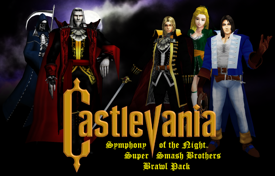 Castlevania Symphony of the Night Brawl Pack by kironohasama