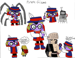 Hero108 Pirate Gizmo by dannichangirl