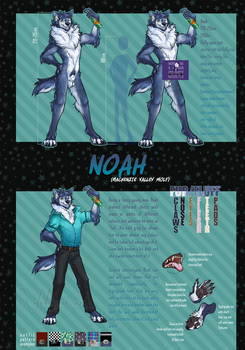 Noah The Wolf [censored] by kevintheradioguy