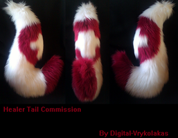 Healer Tail Commission by Radioactimals