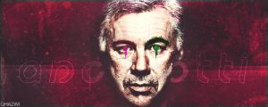 Ancelotti by Ghazwi-Mohamed