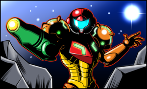 Metroid AM2R intro remake GBA by JusteDesserts