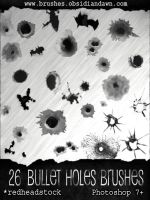 GIMP Bullet Holes Brushes by Project-GimpBC