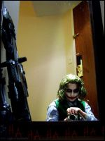 Joker: Clown in the Mirror by Maru-Light