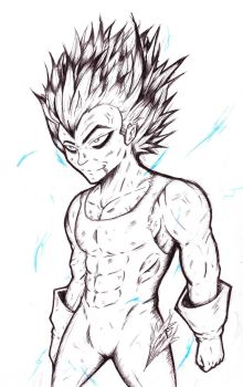 Vegeta by devastationz