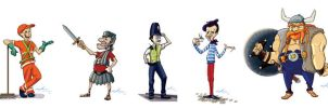 Characters by AngeloCarvalho