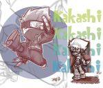 Kakashi Commishie by D-Gee