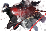 Tokyo Ghoul: Black Butterfly by boxno