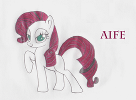 My Little Lost Pony - Aife by DNArt93