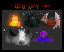 Egg Adoptables- OPEN! - CLOSED by NeoRabbitastic