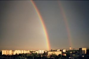 cracow's rainbows by ply93