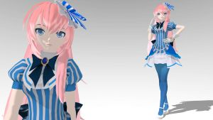 Fraulein Luka MMD download by Reon046