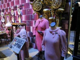 Dolores Umbridge's ministry of magic office .pink by Sceptre63