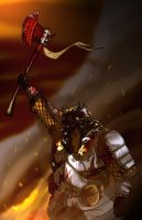 Battle cry by FlyingNerve