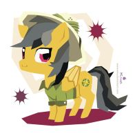 Squarey Daring Do by Kna