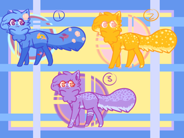 .: Adoptables :. by AlbinaReed