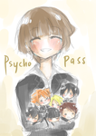 PsychoPass .:quicksketch:. by erichankun