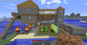 Minecraft house. by Mana-Ramp-Matoran