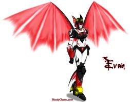 TF OC: Evan - Wings by BloodyChaser