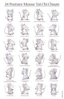 24 Posture Mouse Tai Chi Chuan by Quezzie