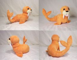 Walrus Plush by Cutie-Star