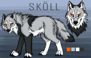 Skoll Reference by FrayWolf117