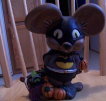 Batmouse by MadForHatters