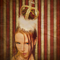 Queen of Hearts Lolita CROWN by SteamSociety