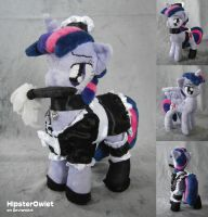 Maid Twilight with removeable Wings - Plushie by HipsterOwlet