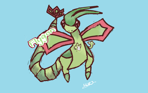 Flygon by LWSkybones