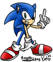 Collab: Sonic by Katrins23