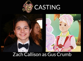 Zach Callison as Gus Crumb - EAH Live-Action by ThunderFists1988