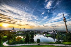 Olympia Park, Munich by alierturk