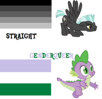 MLP pride flags by PokeCJG