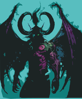 Illidan Stormrage by Seraki