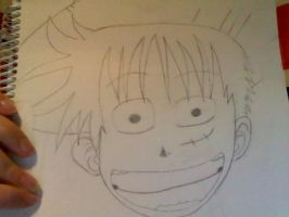 Monkey D Luffy One Piece by Muffinlover24